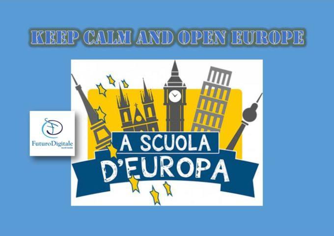 Cori, Keep Calm and Open Europe. A scuola di Europa con Futuro Digitale