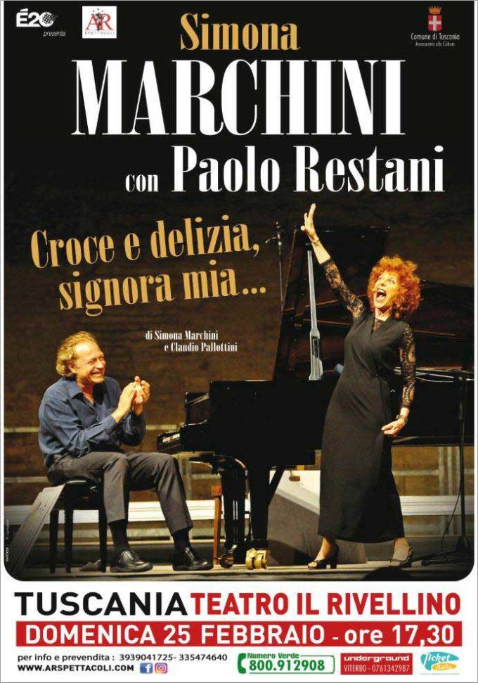 """""""Croce e delizia, signora mia"""", l'omaggio a Verdi  di Simona Marchini"""