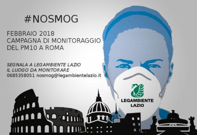 Parte #NoSmog, la nuova campagna di monitoraggio del PM10 a Roma