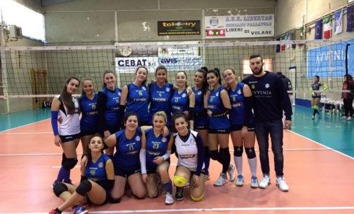 Prima vittoria in campionato per la Puntovolley Libertas gialla con l'Advc Frascati