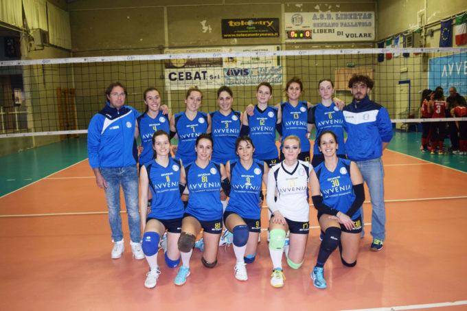 PALLAVOLO ALBANO ALBALONGA- PUNTOVOLLEY LIBERTAS 1-3