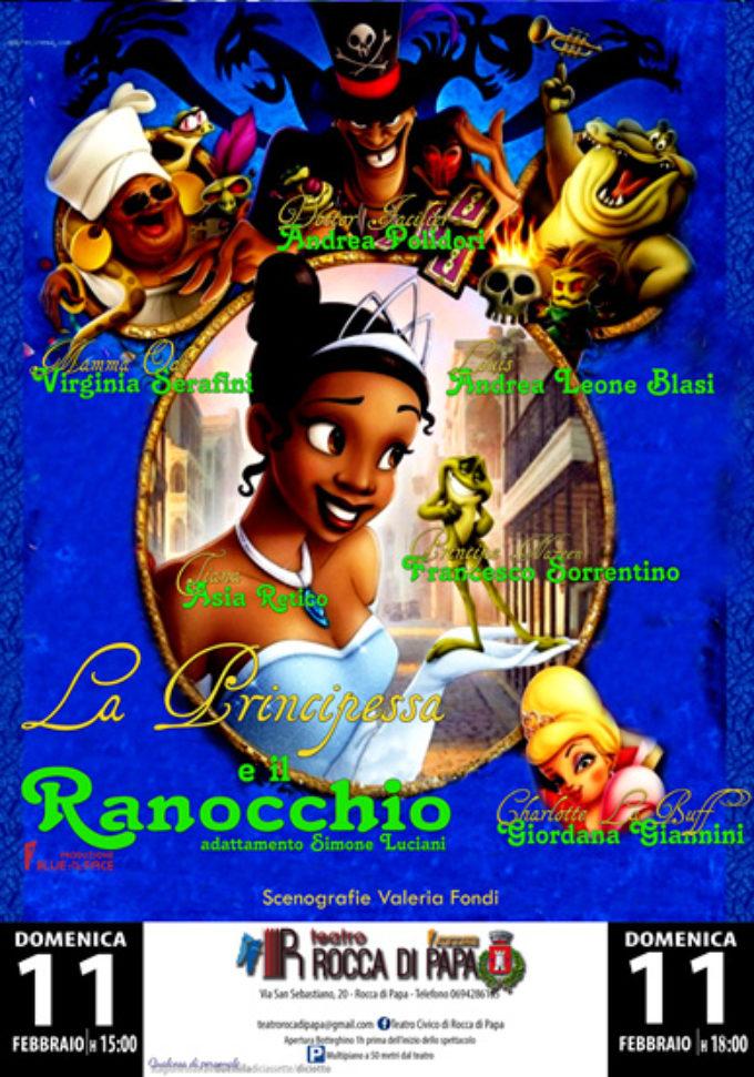 """Teatro Civico di Rocca di Papa – """"La Principessa e il Ranocchio"""" (Teatro Bimbi)"""