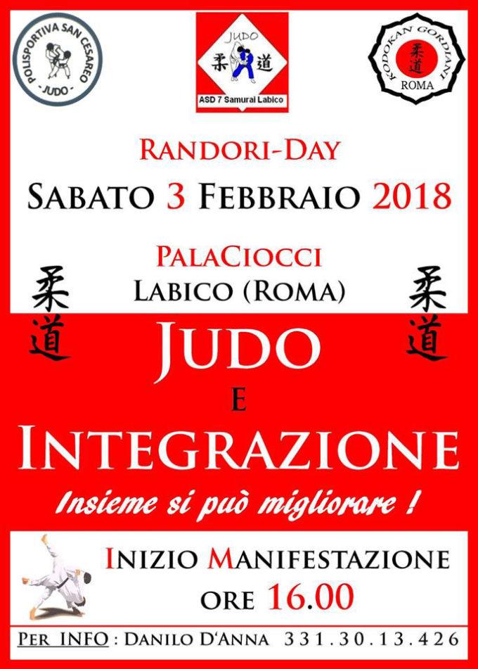 """Labico – """"Judo è integrazione: lo sport e il suo valore socio-educativo """""""