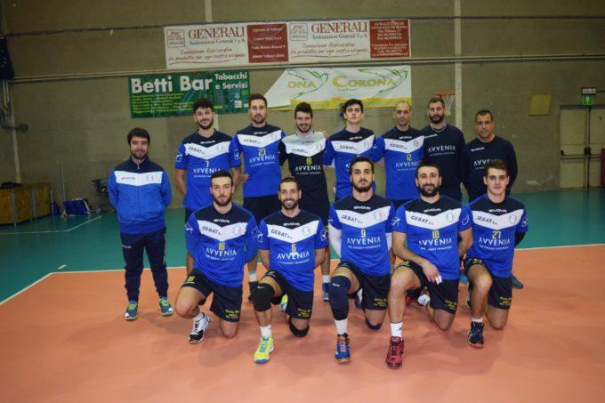 Pallavolo- Campionato regionale serie c maschile 2 giornata di ritorno