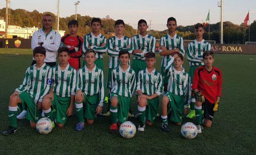 Castelverde calcio, i Giovanissimi sperimentali non sfigurano con la Roma. Valerio: «In crescita»