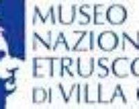 Convenzione  tra il Museo Nazionale Etrusco di Villa Giulia e l'American Federation of Arts