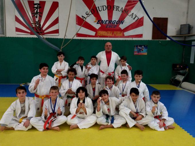 Asd Judo Frascati, scorpacciata di medaglie a Monterotondo. In tre ai campionati italiani Cadetti