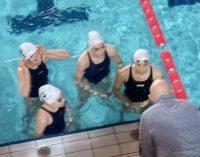 Gli atleti del Tc New Country Club Frascati a testa alta ai campionati italiani giovanili di nuoto