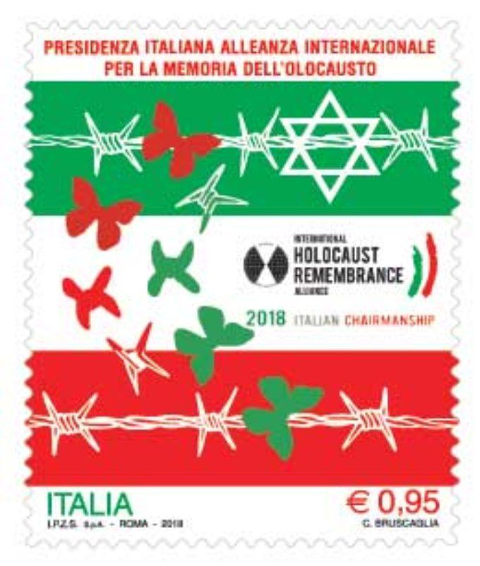 Emesso oggi un francobollo dedicato alla Presidenza italiana dell'Alleanza internazionale per la Memoria dell'olocausto