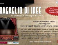 """CONCORSO DI DRAMMATURGIA """"Un bagaglio di idee"""". Lo spettacolo in una valigia"""