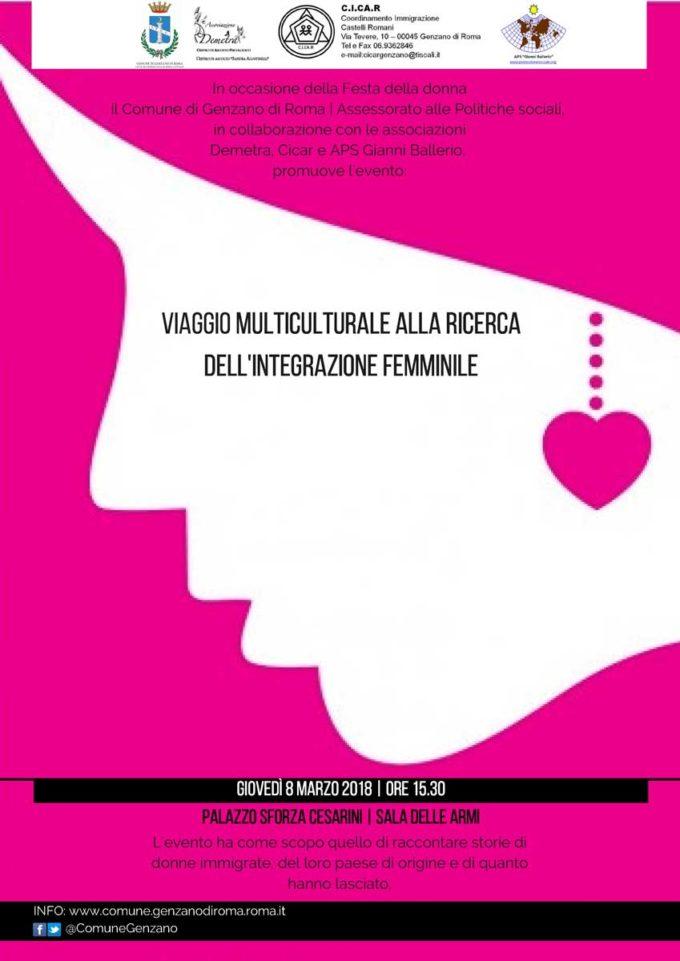 Genzano celebra la Festa della donna con un incontro tra culture diverse