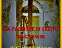 La Passione rivive a Oliveto Sabino (RI)