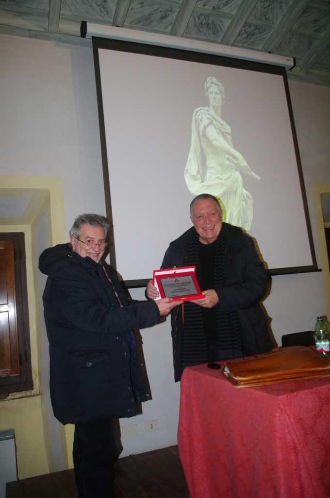 Il Prof. Mariano Malavolta, socio onorario di Archeoclub Aricino Nemorense