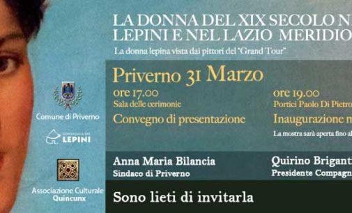 """Priverno  – """"La Donna del XIX secolo nei Lepini e nel Lazio meridionale"""""""