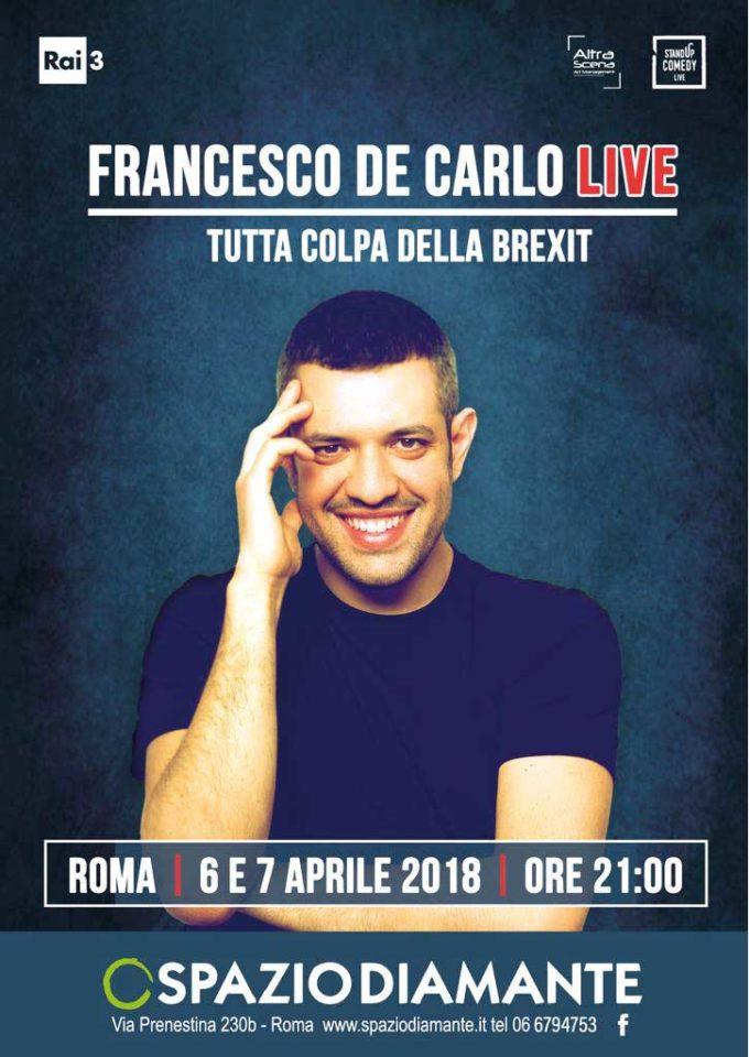 Spazio Diamante – Altra Scena Francesco De Carlo Live