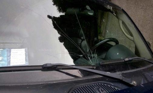 Monte Compatri, atti vandalici contro l'auto dell'assessore Di Franco