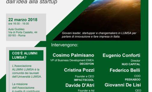 All'Università LUMSA le migliori startup del momento