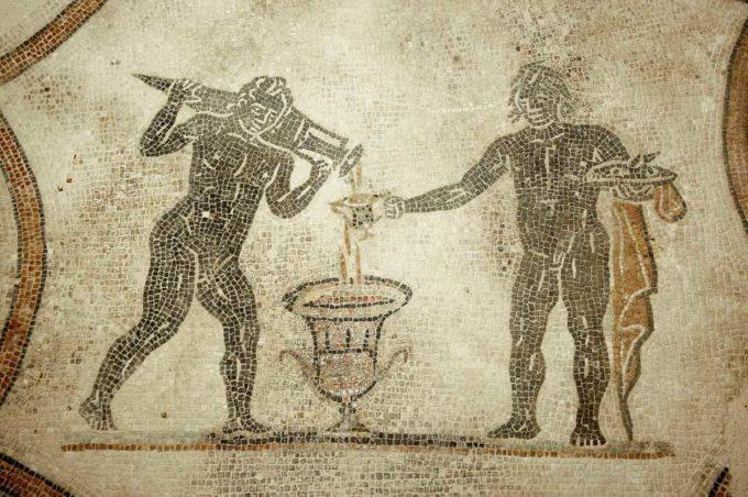 Inaugura la Villa dei Mosaici di Spello