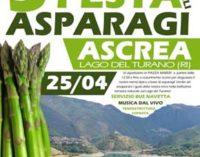 Ascrea (RI) festeggia gli asparagi