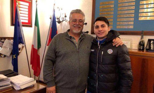 Ardea, sindaco incontra giovane campione ginnastica