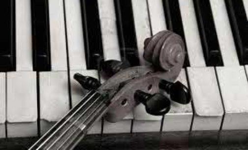 Andante e Rondò, duo di violino e pianoforte  nel Palazzo Baronale di Sipicciano