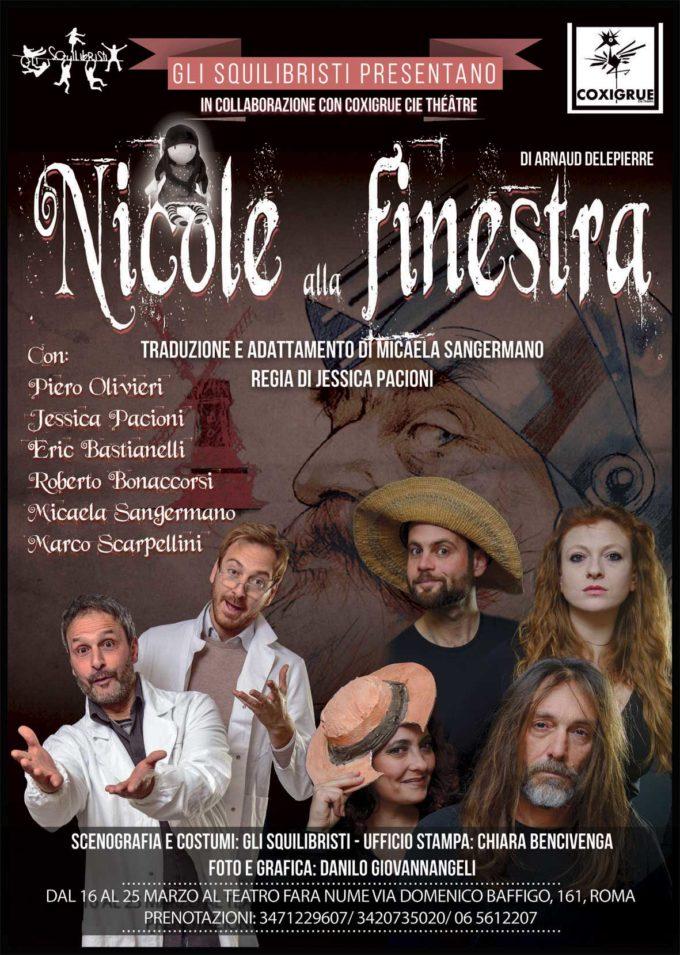 Teatro Fara Nume -Nicole alla finestra