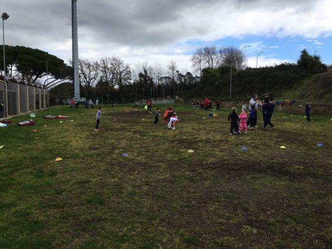 Rugby Frascati Union 1949, sabato scorso si è tenuta la prima tappa del progetto scuola