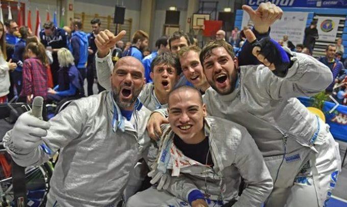 Frascati Scherma: Ottaviani e Lucarini argento europeo a squadre, Paolucci primo tra i paralimpici