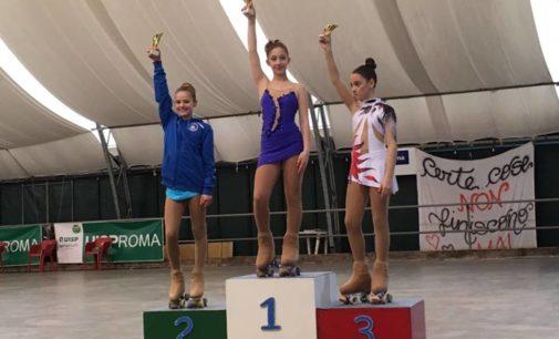 Ssd Colonna (pattinaggio): Emma Bivi vice campionessa provinciale, Pala finisce sesta