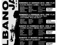 Albano Laziale, sabato 17 marzo ultimo appuntamento con Albano Jazz 2018