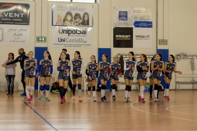 Volley Club Frascati, la corsa dell'Under 13 si ferma in finale. Mineo: «Un bel percorso»