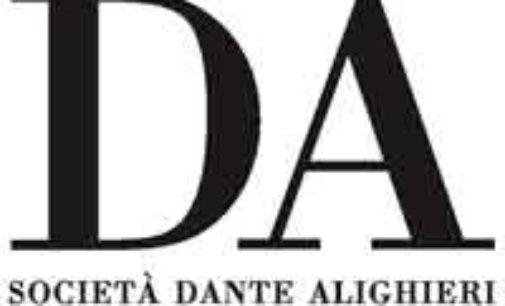 Società Dante Alighieri – Il programma di aprile dei nostri incontri culturali