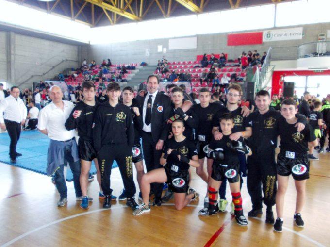Arti da combattimento- Seconda tappa Centro Italia dei campionati italiani WTKA