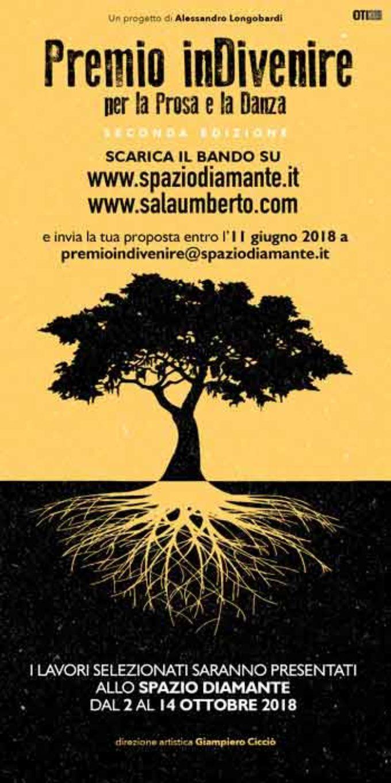 Premio inDivenire per la prosa e per la danza II edizione