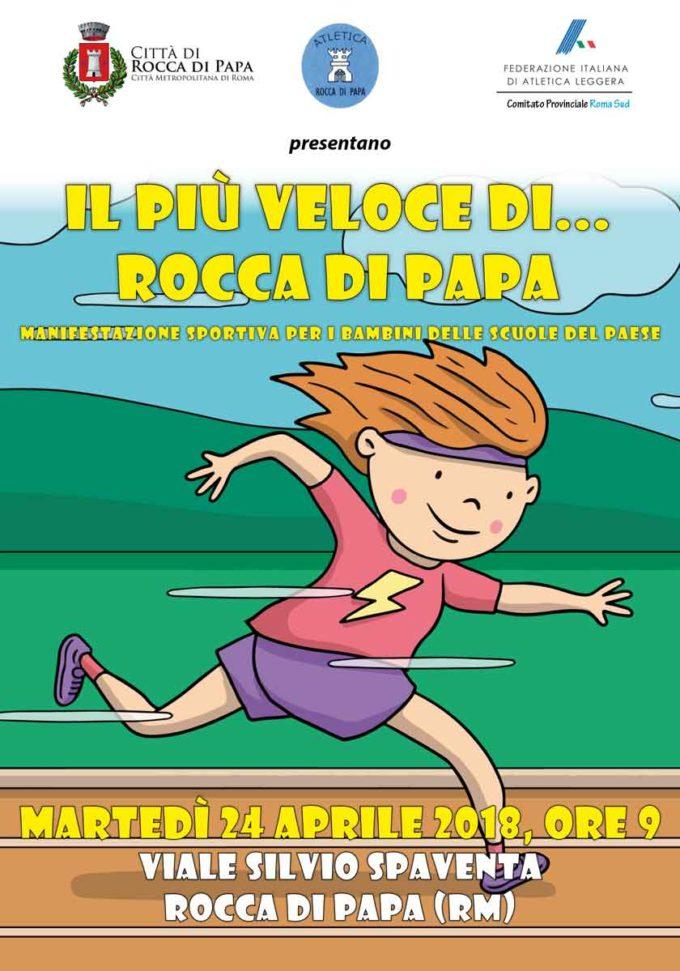 """RITORNA """"IL PIÙ VELOCE DI ROCCA DI PAPA"""""""