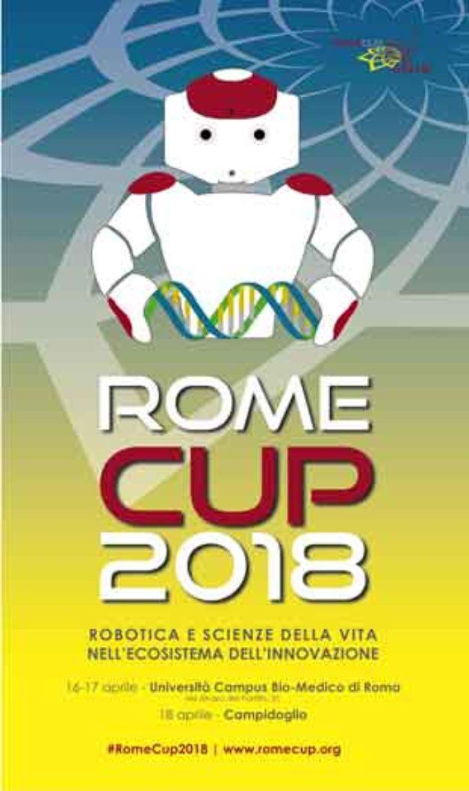 RomeCup 2018: ENEA alla mostra della robotica (16-18 aprile)