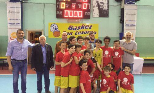 """Il San Cesareo Basket si aggiudica il  """"X Memorial Alessio Martinucci"""""""