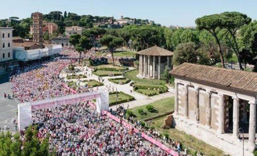 26 Aprile 2018 – Oysho rinnova per il quarto anno il suo appuntamento alla Race for the Cure di Roma