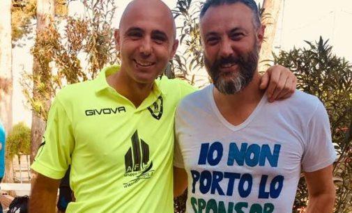 """La Rustica calcio (Prom), Panno: «Maglia """"Io non porto lo sponsor""""? Ecco perché l'ho indossata»"""
