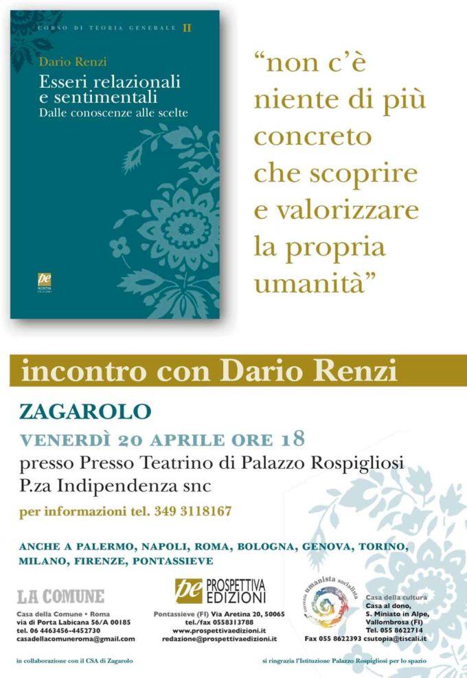 Esseri relazionali e sentimentali di D. Renzi