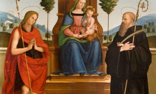 La Madonna degli alberelli e il San Girolamo in mostra a Bettona