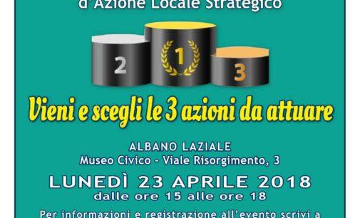 Albano Laziale, lunedì 23 aprile la 6^ Agorà del progetto europeo UrbanWins