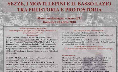 """""""Sezze, i Monti Lepini e il basso Lazio tra preistoria e protostoria"""""""
