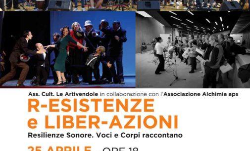 R-Esistenze e Liber-Azioni 25 aprile ore 18 Teatro Tor Bella Monaca