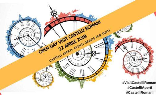 Open Day Visit Castelli Romani 2018