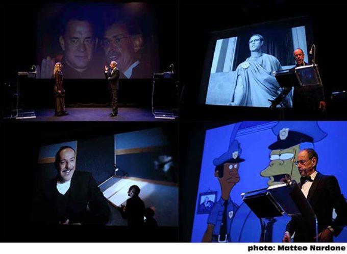 IL DOPPIATTORE: torna per il terzo anno con nuovi ospiti lo spettacolo di Angelo Maggi dedicato all'arte del doppiaggio