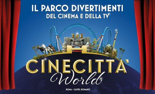 IL GRANDE CINEMA A CINECITTA' WORLD  APRE CINETOUR TRA LE NOVITA' 2018 DEL PARCO A TEMA DI ROMA