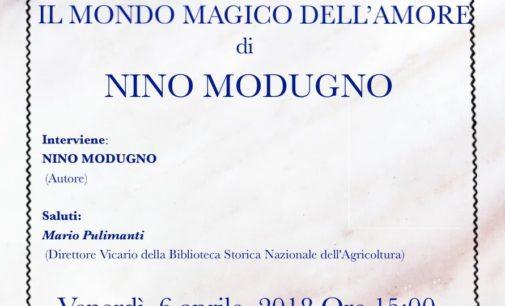 """""""Il mondo magico dell'amore"""" di N. Modugno"""