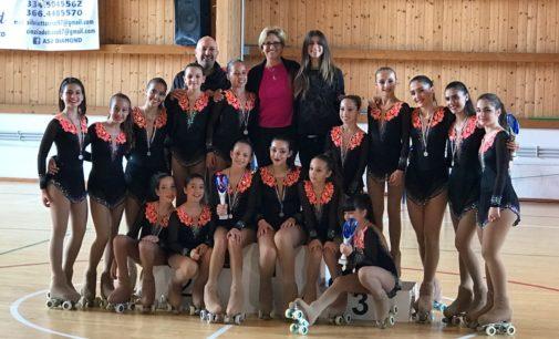 Asd Frascati Skating Club scatenato ai campionati regionali di solo dance: quanti podi!