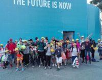 Tc New Country Club Frascati, 70 ragazzi della Scuola tennis al Foro Italico: «Il futuro siamo noi»